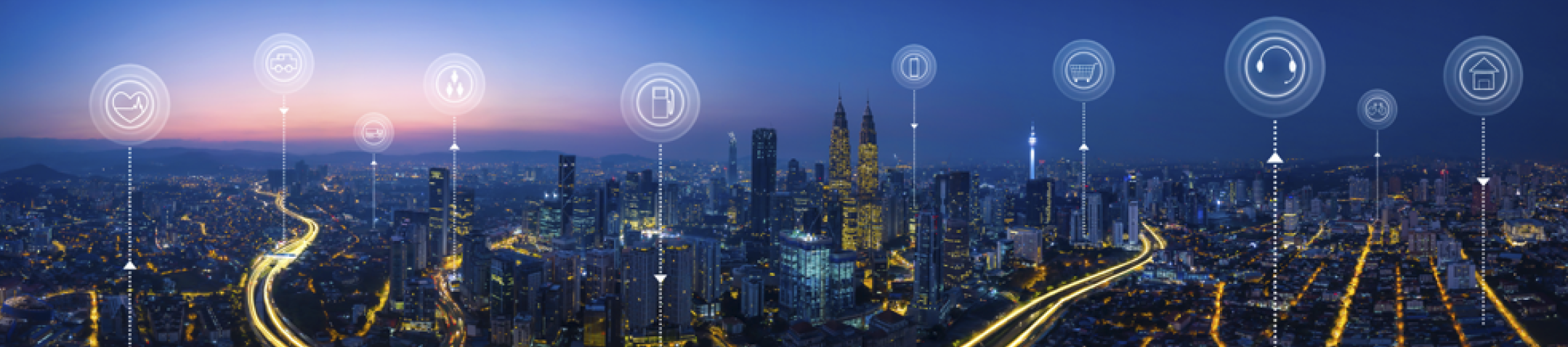 Embracing the future with smart cities