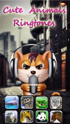 Cute Animals Sounds Ringtones - screenshot