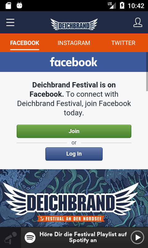 Deichbrand Festival- screenshot