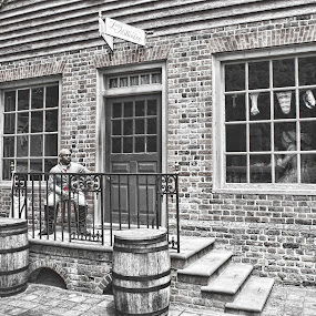 A moment in time by Brian Lord - Buildings & Architecture Public & Historical ( building, window, old town, williamsburg, historic,  )