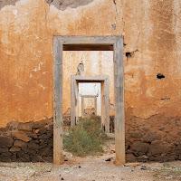 Campo militare abbandonato a La Oliva, Fuerteventura, 2011 di