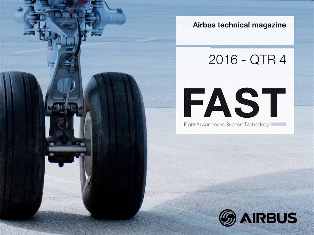 FAST magazine by Airbus- screenshot