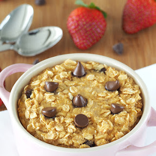 Chocolate Chip Muffin Baked Oatmeal