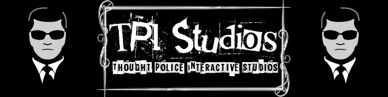 Thought Police Interactive (TPI Studios) logo