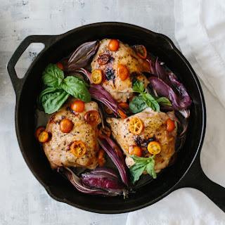 Basil Chicken with Kumquats Recipe