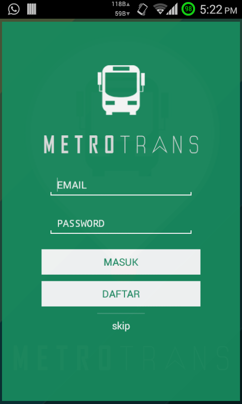 Metro Trans- screenshot