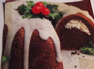ANGEL WING CHRISTMAS, CHOCOLATE CAKE