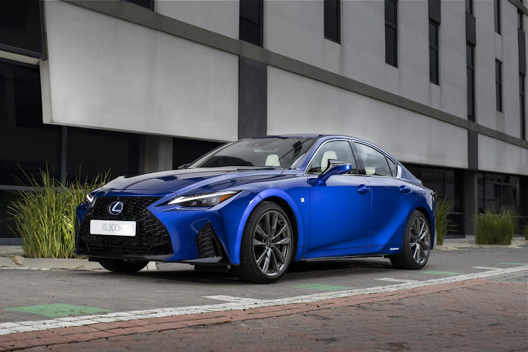 The new Lexus IS is now on sale as a hybrid model in three grades. Picture: SUPPLIED