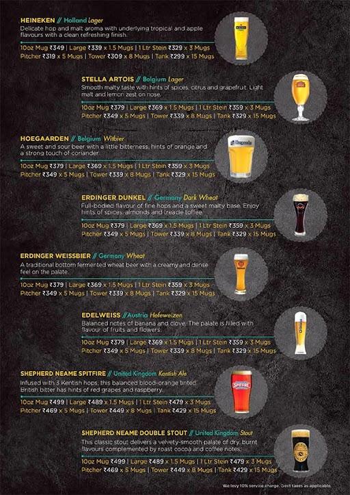 The Beer Cafe menu 3