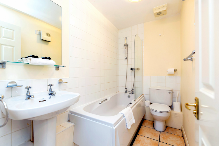 Bathroom at Kingston upon Thames apartment