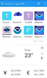 Weather Models screenshot 1