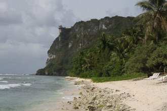 Photo: Tumon Guam, 2 lovers point on the cliff