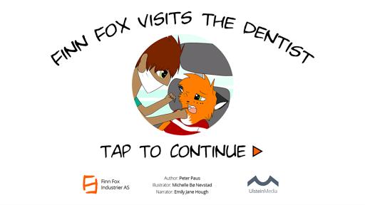 Finn Fox visits the dentist
