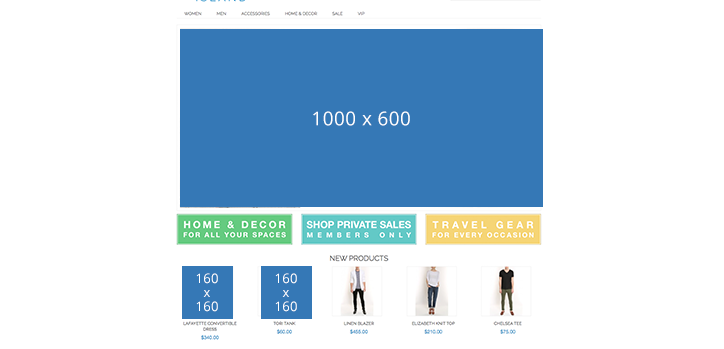 Image Sizes for Page Optimization
