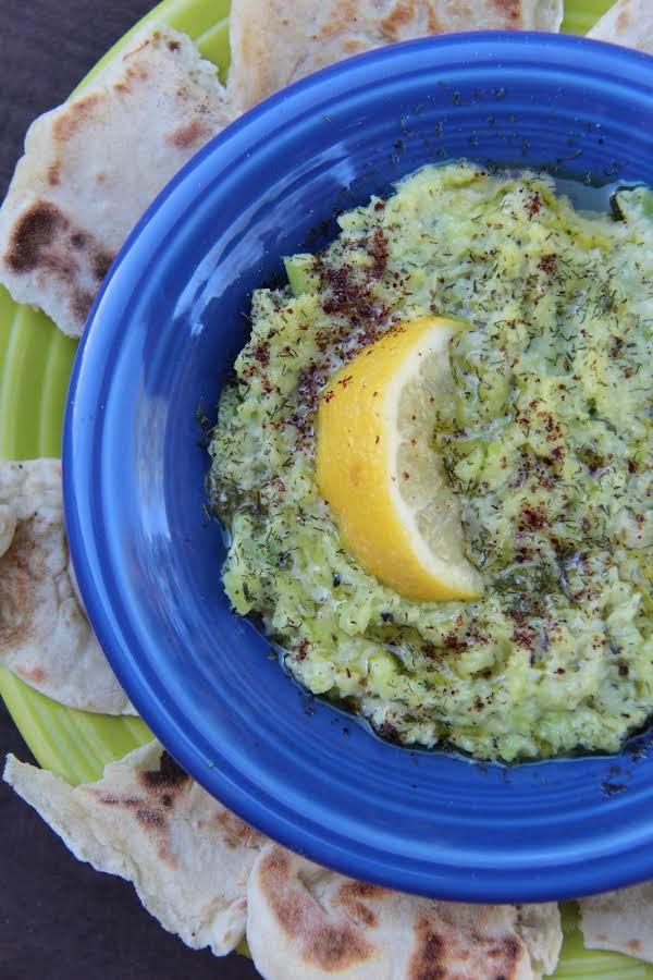 Fava Bean & Mint Hummus W/variations