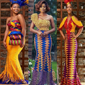 Kente Gowns Fashion Styles.