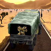 Offroad Army Transport Truck Driving Game 2017