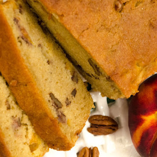 Peach Pecan Quick Bread