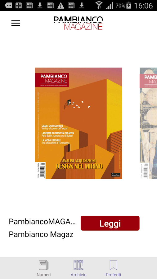 Pambianco Magazine- screenshot