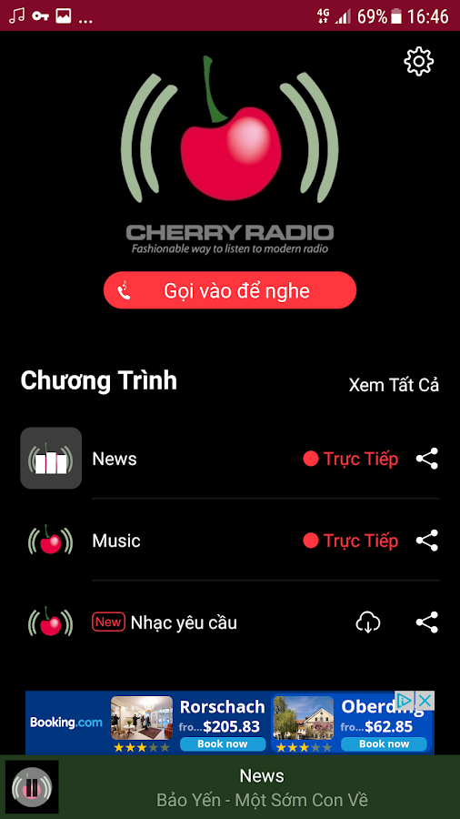 Cherry Radio Vietnamese- screenshot