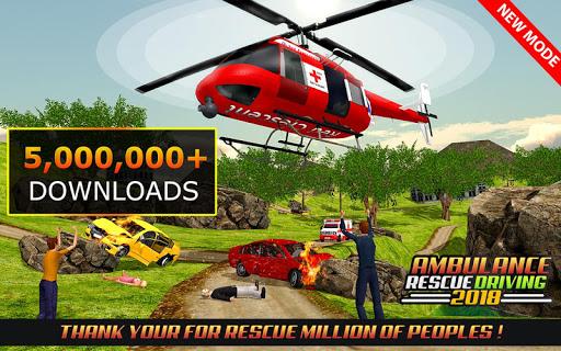 Code Triche Ambulance Rescue Driving 2017 mod apk screenshots 1