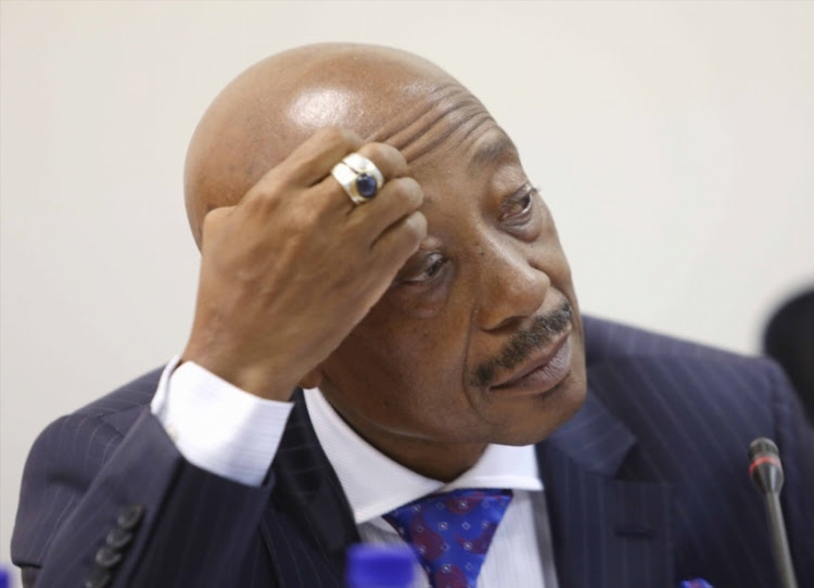Fired South African Revenue Services (SARS) commissioner Tom Moyane.