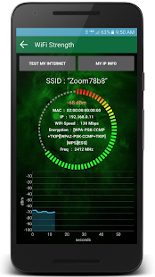 Wifi Analyzer-Wifi tools pro Screenshot