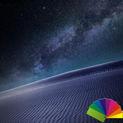 Desert Night Theme For Xperia