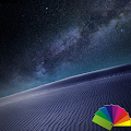 Desert Night Theme For Xperia APK