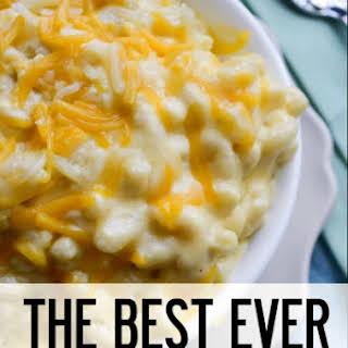 Pioneer Woman's Mac & Cheese.