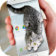 Cat Walks in Phone Cute Joke (app)