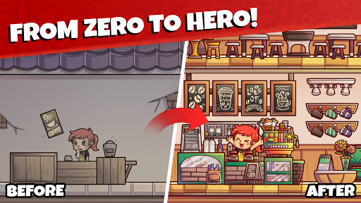Own Coffee Shop: Idle Tap Game APK MOD – Monnaie Illimitées (Astuce) screenshots hack proof 2