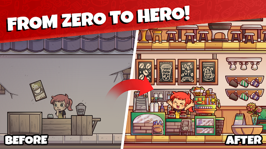 Own Coffee Shop: Idle Tap Game Apk Download For Android and Iphone 2