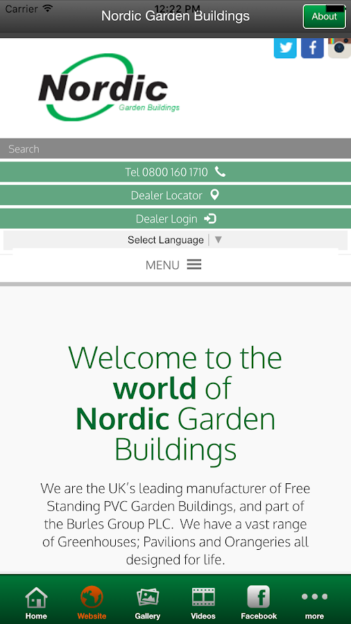 Nordic Garden Buildings- screenshot