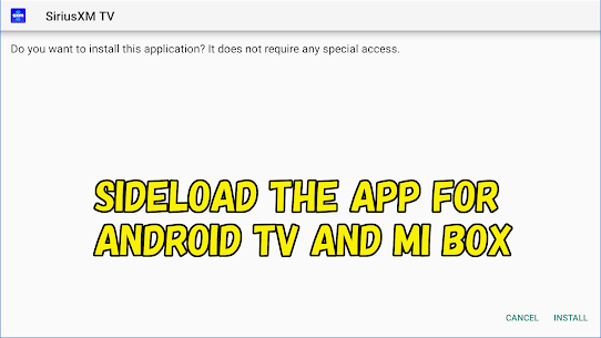 Mibox APK installer for Android TV 3