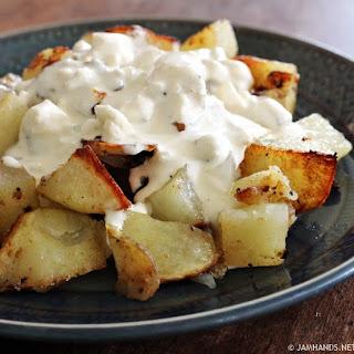 Rocky Mountain Gorgonzola Potatoes.