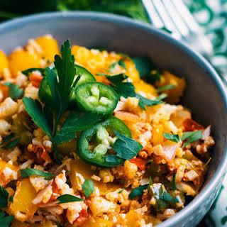 Southwest-Style Vegetable Cauliflower Rice.