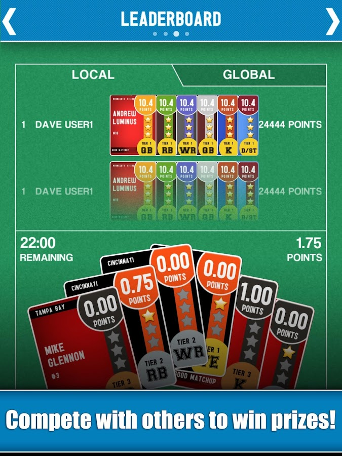 Game On Football- screenshot
