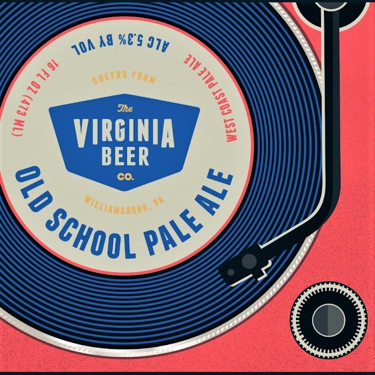 Logo of Virginia Beer Co. Old School Pale Ale