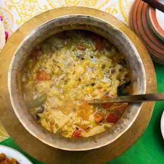 Dal Dhokli (Indian Roti and Lentil Stew) Recipe