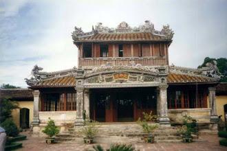 Photo: Thái Bình lâu - mặt trước
