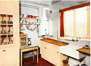 Photo: A 1937  up to date London kitchen