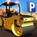 Construction city Truck Parking Simulator Games Icon