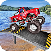 Monster Truck Stunts Racing Games 2017