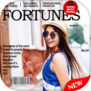 Magazine Cover Photo Editor :Magazine Photo Frames