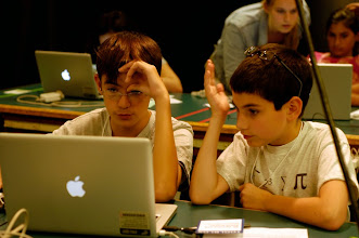 Photo: Students learn research skills