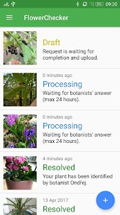 FlowerChecker+, plant identify Screenshot