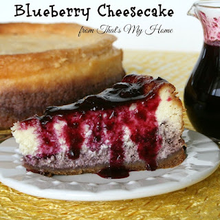Blueberry Cheesecake.