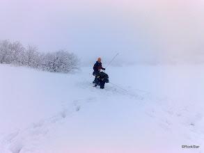 Photo: cestou na chatu sme spravili ešte vyhľadávanie zasypaných lavinou...