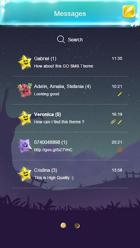 GO SMS Stars